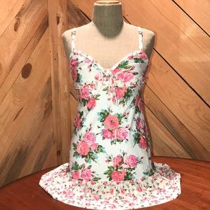 Cute little floral print nightie